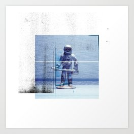 Space Explorer Art Print