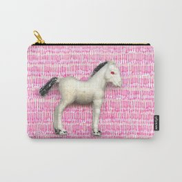 My little foal in a sea of pink Carry-All Pouch