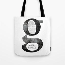 O.G. Garamond Tote Bag