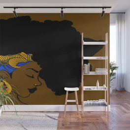 Fro African Wall Mural