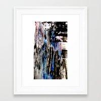 grunge Framed Art Prints featuring Grunge by Paige Elizabeth