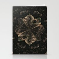 ornate Stationery Cards featuring Ornate Blossom by Charma Rose