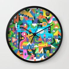 Neighbourhood 2 Wall Clock
