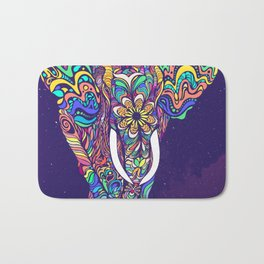 Not a circus elephant Bath Mat