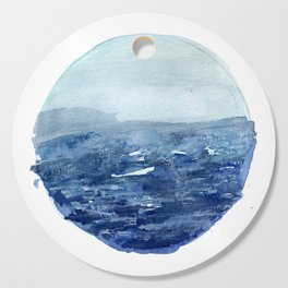 Around the Ocean Cutting Board