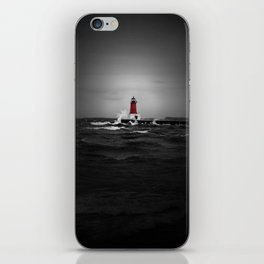 Lighthouse Glow iPhone Skin
