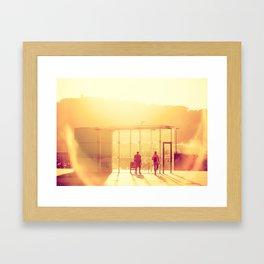Barceloneta CH Framed Art Print