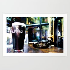 It's Time for A Pint Art Print