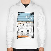 fear and loathing Hoodies featuring Fear and Loathing in Albuquerque II by Evan