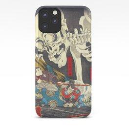 Takiyasha the Witch and the Skeleton Specter- Utagawa Kuniyoshi iPhone Case