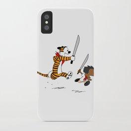 Bonifacio and Hobbes iPhone Case