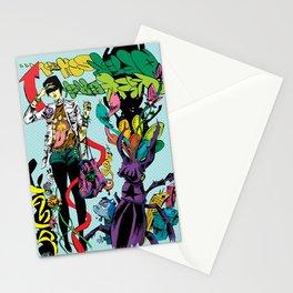 Kick Back Stationery Cards