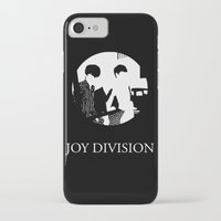 joy division iPhone & iPod Cases featuring JOY DIVISION - Music | Goth | Indie | Wave | Retro | Vintage | Vector | Black and White | Vinyl  by Gianluca Lucchese