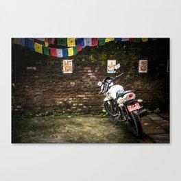 Motorcycle Prayers Canvas Print