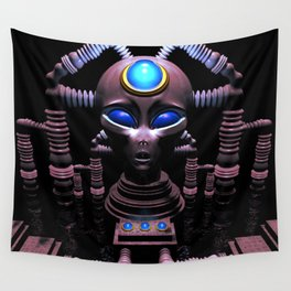Electric Head: Symbiosis Wall Tapestry