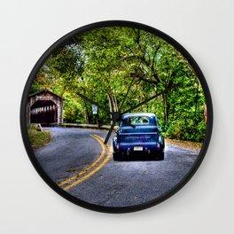 Truck & Bridge Wall Clock