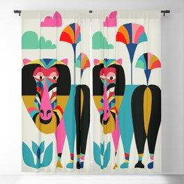 Baboon Blackout Curtain