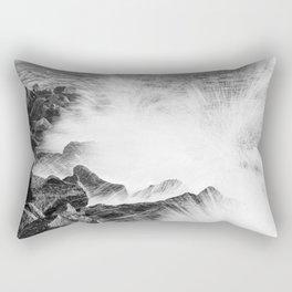 Morris Island Light Splash Rectangular Pillow