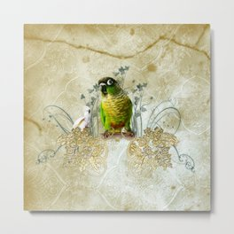 Wonderful, cute parrot Metal Print