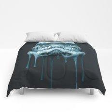 Stormtrooper Melting Dark Comforters