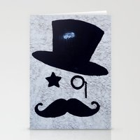 gentleman Stationery Cards featuring Gentleman by Le Arcara