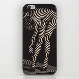 Zebra Woman No.1 iPhone Skin