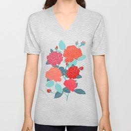 Rose Garden - Light Unisex V-Neck