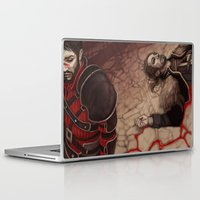 dragon age Laptop & iPad Skins featuring Dragon Age: No Compromise by Couple Of Kooks