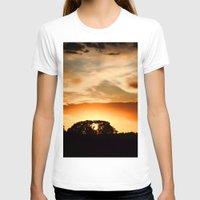 swedish T-shirts featuring Swedish sunset by Mark W