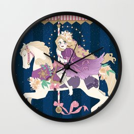 Carousel: New dream Wall Clock