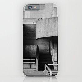 National Theatre | London |  United Kingdom by Sir Denys Lasdun Architect iPhone Case