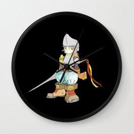 Knight night Wall Clock
