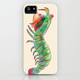 Peacock Mantis Shrimp iPhone Case