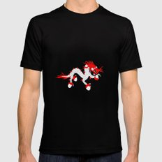 Dragon Mens Fitted Tee Black SMALL