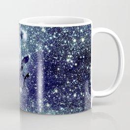 The Eagle Nebula / Pillars of Creation Midnight Indigo Teal Blue Coffee Mug