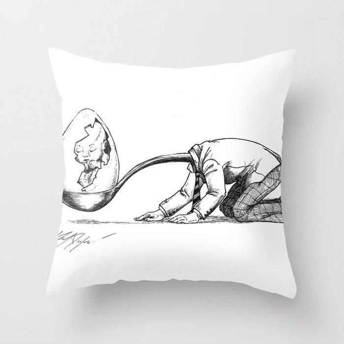 Paternity Throw Pillow