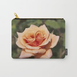 Beautiful Apricot Rose Carry-All Pouch
