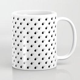 BLACK BOMB DIGGITYS ALL OVER SMALL Coffee Mug