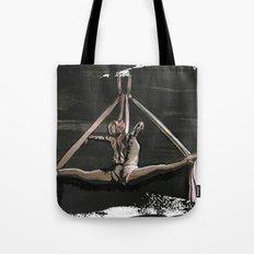 Subtle Splits Triangle Tote Bag