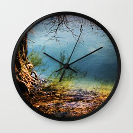 Where's The Waters Edge? Wall Clock