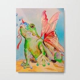 Mr.Toad Metal Print