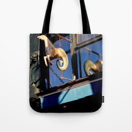 Quite A Tale - Hippocamp Tote Bag