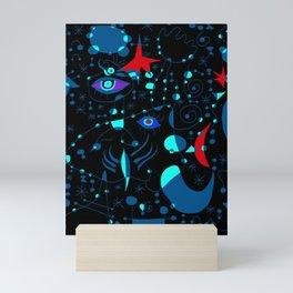 Joan Mirò Pattern #3 Mini Art Print