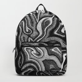 Abstract #1 - I - Silvered Backpack
