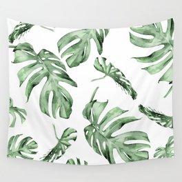 Monstera Pattern Green #society6 #buyart Wall Tapestry