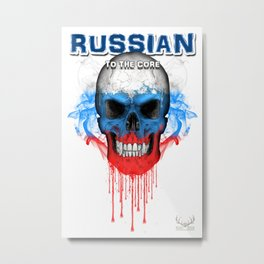 To The Core Collection: Russia Metal Print