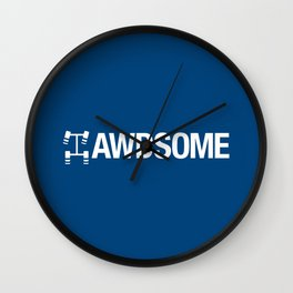 AWDSOME v5 HQvector Wall Clock