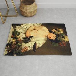 Bacchus - Caravaggio Rug