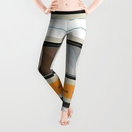 The cassette tape golden tooth Leggings