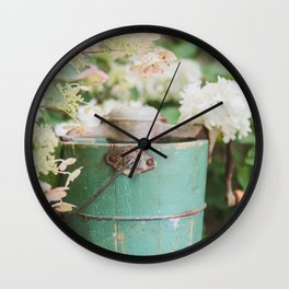 Making Ice Cream Kinda Day Wall Clock